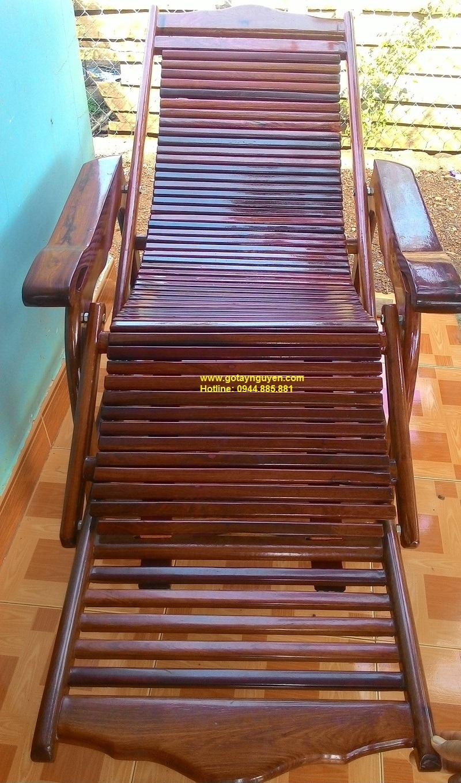 Ghế xếp gỗ hương