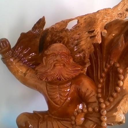 Tượng gỗ Đạt Ma đẹp – Bồ đề Đạt Ma