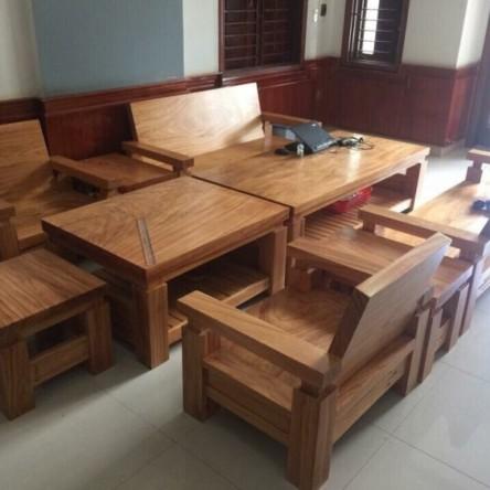 Bàn ghế gỗ Gõ Đỏ (Gỗ Cà te)