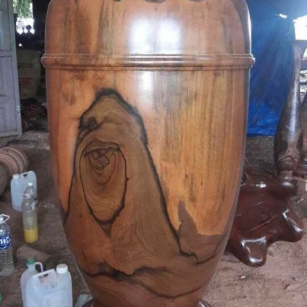 Lục bình gỗ Ké đen 1.85m