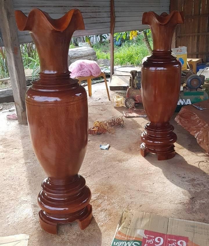 Lục bình gỗ đinh hương 1.4m