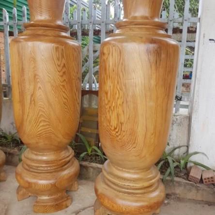 Lục bình gỗ đinh hương 2.2m