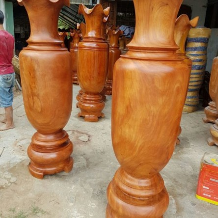 Lục bình gỗ đinh hương 1.7m