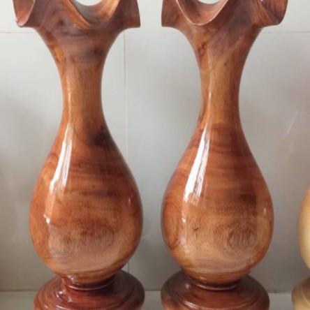 Lộc bình gỗ bồ kết 47cm